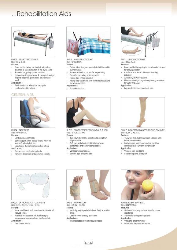 Vật tư tiêu hao khoa CTCH - Đai nẹp các loại