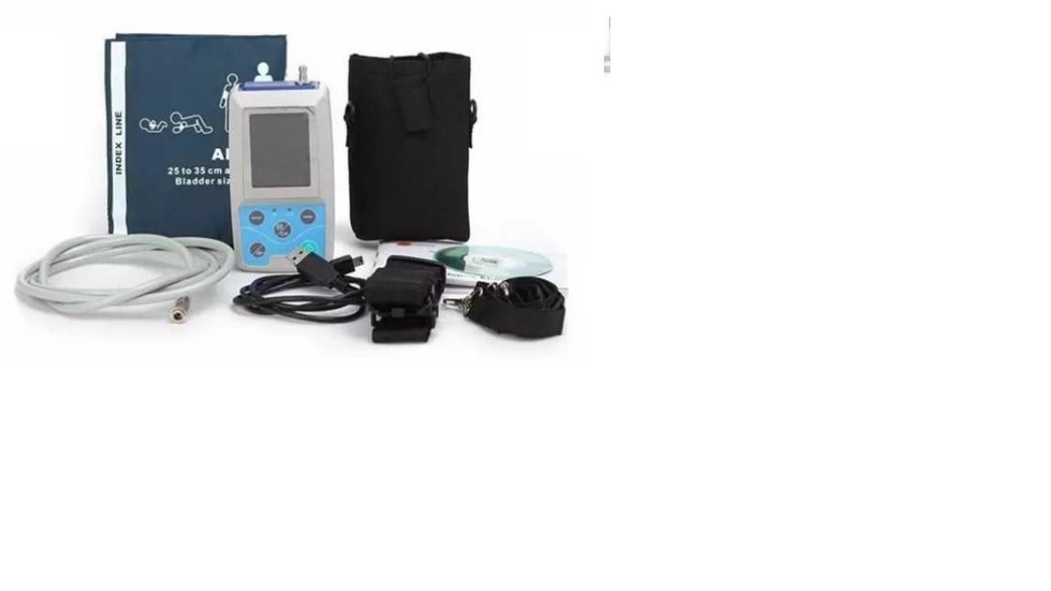 Máy đo huyết áp cấp cứu 24 giờ với 3 vòng bít người lớn + trẻ em + trẻ sơ sinh
