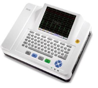 Máy điện tim kỹ thuật số 12 kênh với màn hình cảm ứng TFT 8.4inch