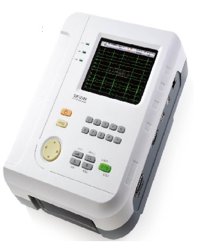 Máy điện tim kỹ thuật số 12 kênh với màn hình màu đơn 5.7inch