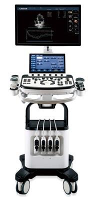 Máy siêu âm màu 4D 05 đầu dò với màn hình LCD độ phân giải cao 23,8 inch + màn hình cảm ứng 13,3 inch