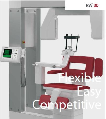 Hệ thống chụp CT đầu và cổ dạng 3D