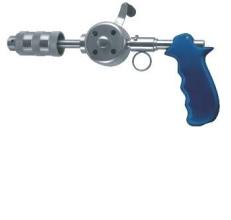 Tay khoan xương với mâm cặp JACOBS với tay cầm điều chỉnh được cỡ Ø 6.35 mm