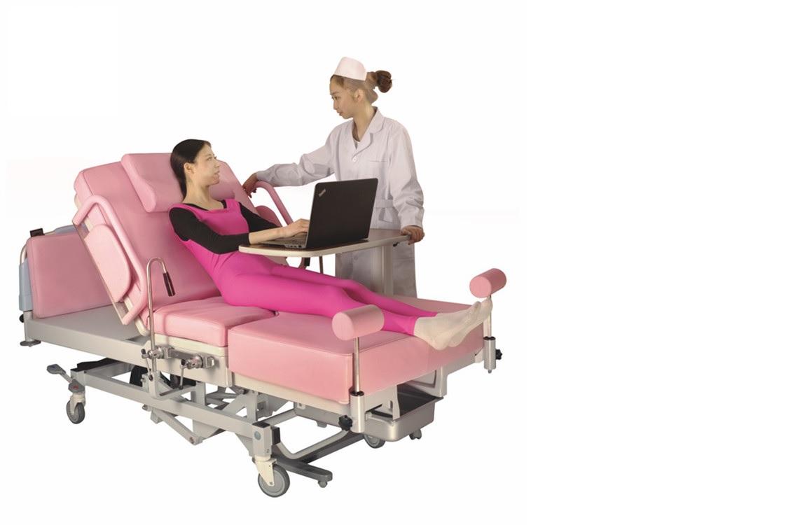 Giường khám – Giường sanh cao cấp đa chức năng rất đẹp và rất tiện ích