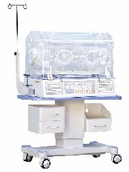 Lồng ấp trẻ sơ sinh cao cấp đa chức năng với chế độ kiểm soát khí và da; có đèn điều trị vàng da mặt trên và dưới; có khay X_Ray; có cân trọng lượng và hệ thống kiểm soát độ ẩm; có k