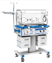 Lồng ấp trẻ sơ sinh cao cấp đa chức năng với chế độ kiểm soát khí và da; có đèn điều trị vàng da mặt trên và dưới; có khay X_Ray; có hệ thống kiểm soát độ ẩm; có cân trọng lượng và c