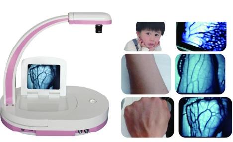Đèn soi tĩnh mạch sâu và nông hồng ngoại dùng cho người lớn; trẻ em và trẻ sơ sinh