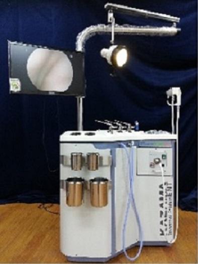 Hệ thống bàn khám và điều trị nội soi tai mũi họng