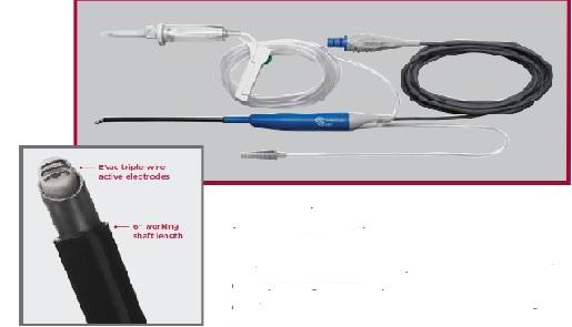 Dao đốt (đầu dò Saline) dùng cho cắt amiđan và cắt adenoidectomy của máy Coblator