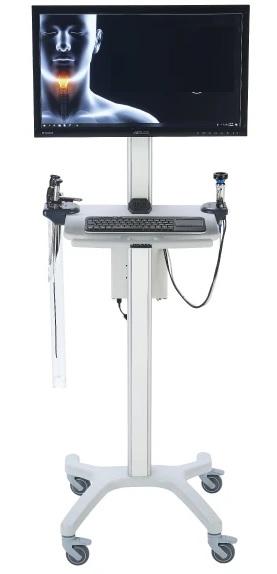 Máy soi hoạt nghiệm thanh quản ống cứng và ống mềm loại di động