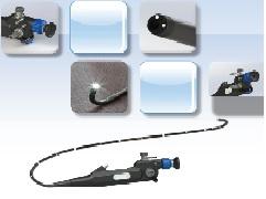Ống soi mềm phế quản có thể kết nối với đầu Camera head của ống soi cứng
