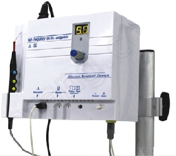 Máy cắt đốt điện đơn cực (Mono) và lưỡng cực (Bibolar) - Electrosurgical Unit Max Output Power : 30w