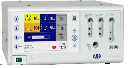 Máy đốt điện cao tần 400W với màn hình màu TFT - Electrosurgical unit 400W