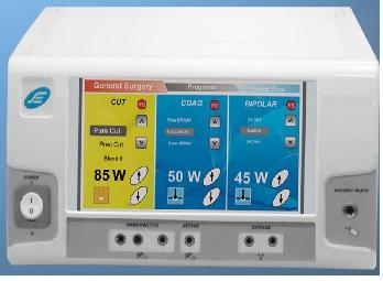 Máy cắt đốt điện cao tần với màn hình cảm ứng