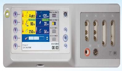 Máy đốt điện cao tần 400W với màn hình màu TFT và có chế độ cắt cầm máu Argon Plasma - Electrosurgical unit 400W