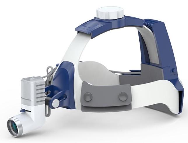 Đèn khám bệnh treo trán / Đèn phẫu thuật treo trán y tế công suất cao