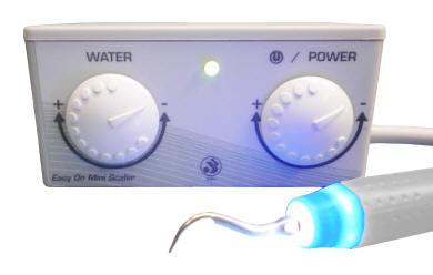Máy cạo vôi răng bằng siêu âm kết hợp với tay khoan siêu tốc
