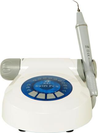 Máy cạo vôi răng bằng siêu âm kết hợp với đèn trám thẫm mỹ
