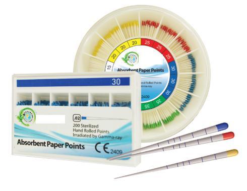 Que tăm giấy Nha khoa dùng để sấy khô ống chân răng (điều trị tủy răng)