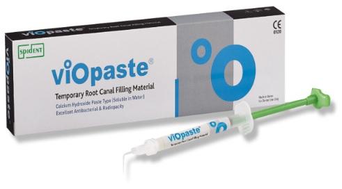 Vật liệu làm đầy chân răng tạm thời (Bột canxi hydroxit trộn sẵn với bari sulfat)